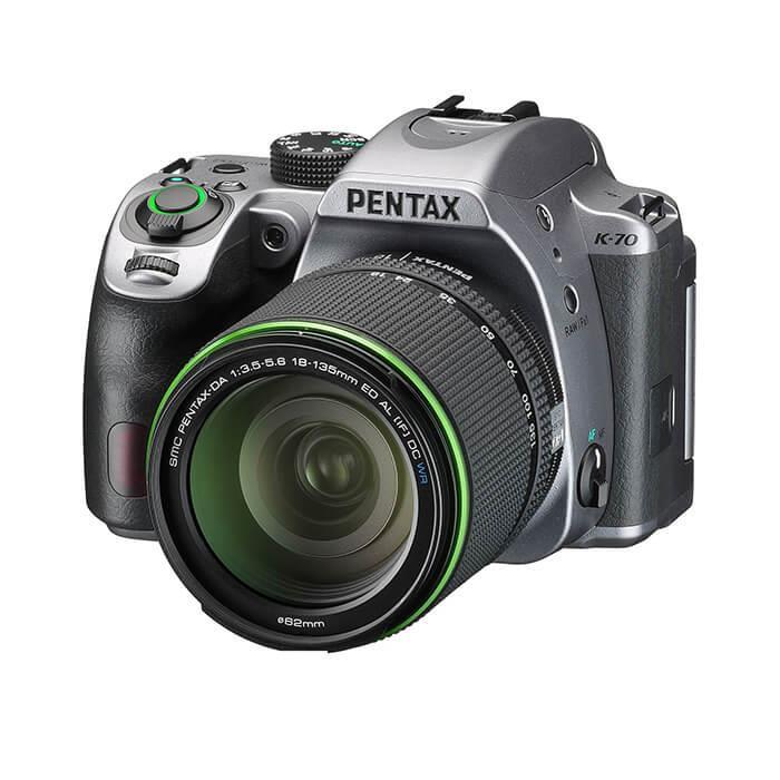 《新品》 PENTAX (ペンタックス) K-70 18-135WR レンズキット シルキー[ デジタル一眼レフカメラ   デジタル一眼カメラ   デジタルカメラ ]【KK9N0D18P】