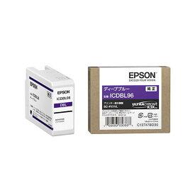 《新品アクセサリー》 EPSON(エプソン) インクカートリッジ ICDBL96 ディープブルー【KK9N0D18P】