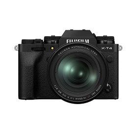 《新品》FUJIFILM (フジフイルム) X-T4 XF16-80mmレンズキット ブラック【下取交換なら¥50,000-引き】[ ミラーレス一眼カメラ | デジタル一眼カメラ | デジタルカメラ ] 【KK9N0D18P】