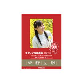 《新品アクセサリー》 Canon(キヤノン) キヤノン写真用紙・光沢ゴールドL判200枚(GL-101L200)【KK9N0D18P】