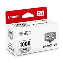 《新品アクセサリー》 Canon(キヤノン) インクタンク PFI-1000 PGY フォトグレー 〔メーカー取寄品〕【KK9N0D18P】