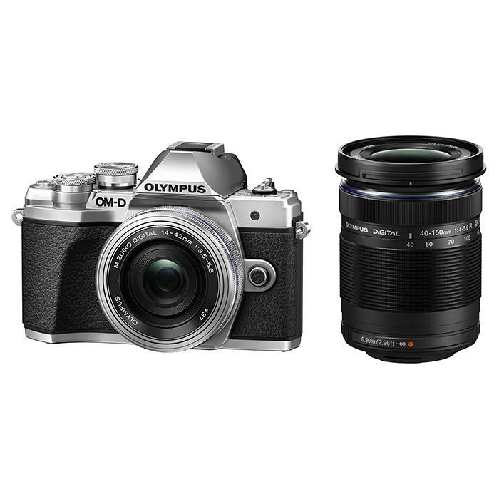 【あす楽】《新品》 OLYMPUS (オリンパス) OM-D E-M10 Mark III EZダブルズームキット シルバー [ ミラーレス一眼カメラ | デジタル一眼カメラ | デジタルカメラ ]【KK9N0D18P】