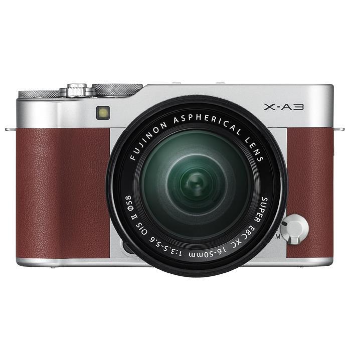 【あす楽】《新品》 FUJIFILM(フジフイルム) X-A3 レンズキット ブラウン【在庫限り(生産完了品)】[ ミラーレス一眼カメラ | デジタル一眼カメラ | デジタルカメラ ][小型軽量レンズ交換式カメラ特集]【KK9N0D18P】
