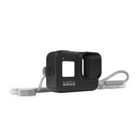 《新品アクセサリー》 GoPro (ゴープロ) スリーブ+ランヤード for HERO8 AJSST-001 ブラック 【KK9N0D18P】