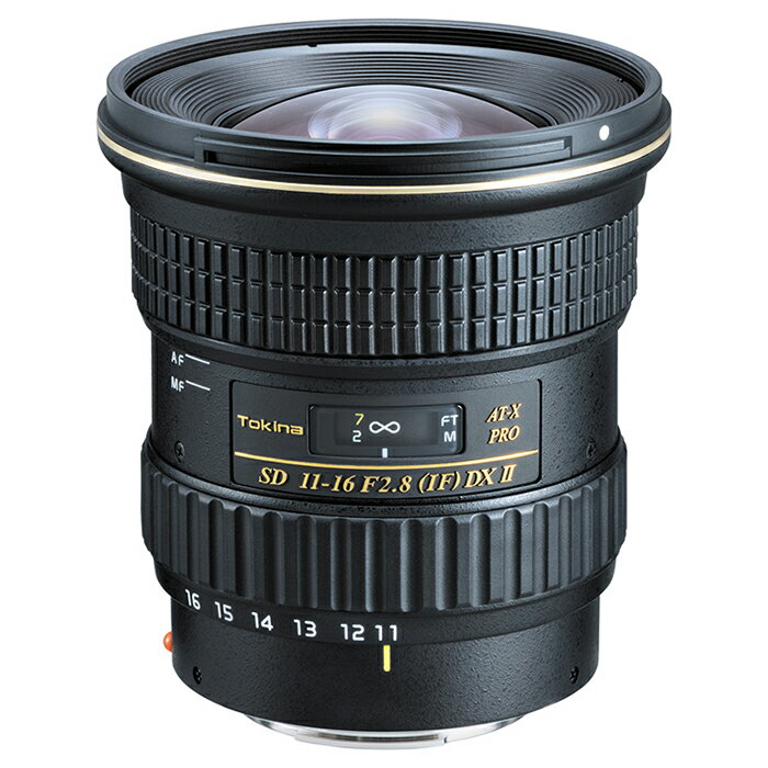 《新品》 Tokina(トキナー) AT-X 116 PRO DX II 11-16mm F2.8(IF) ASPHERICAL(ソニーα用)【MapCamera購入特典!メーカー保証2年付き】【KK9N0D18P】