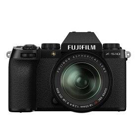 《新品》FUJIFILM (フジフイルム) X-S10 XF18-55mmレンズキット ブラック〔納期未定・予約商品〕[ ミラーレス一眼カメラ | デジタル一眼カメラ | デジタルカメラ ] 【KK9N0D18P】