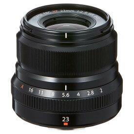 《新品》 FUJIFILM(フジフイルム) フジノン XF23mm F2 R WR ブラック【KK9N0D18P】