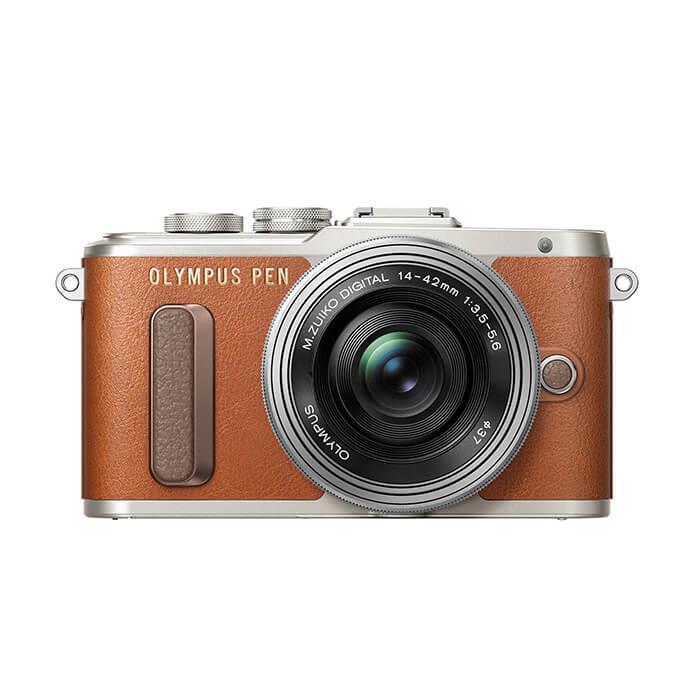 《新品》 OLYMPUS(オリンパス) PEN E-PL8 14-42mm EZレンズキット ブラウン[ ミラーレス一眼カメラ | デジタル一眼カメラ | デジタルカメラ ]【KK9N0D18P】