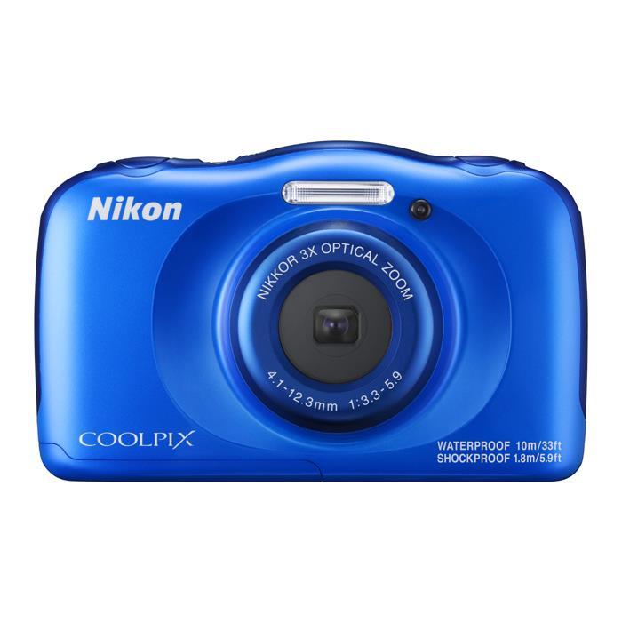 《新品》 Nikon(ニコン) COOLPIX W100 ブルー [ コンパクトデジタルカメラ ]【KK9N0D18P】