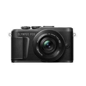 《新品》OLYMPUS (オリンパス) PEN E-PL10 14-42mm EZレンズキット ブラック [ ミラーレス一眼カメラ   デジタル一眼カメラ   デジタルカメラ ] 【KK9N0D18P】