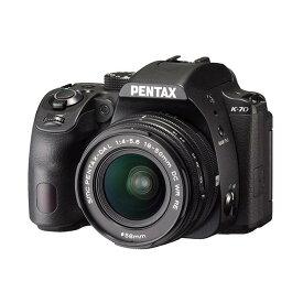 《新品》 PENTAX (ペンタックス) K-70 18-50RE レンズキット ブラック[ デジタル一眼レフカメラ   デジタル一眼カメラ   デジタルカメラ ] 【KK9N0D18P】