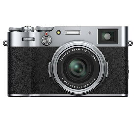 《新品》 FUJIFILM(フジフイルム) X100V シルバー[ コンパクトデジタルカメラ ]【KK9N0D18P】