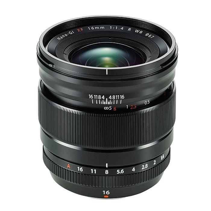《新品》 FUJIFILM(フジフイルム) フジノン XF 16mm F1.4 R WR【¥15,000-キャッシュバック対象】【KK9N0D18P】