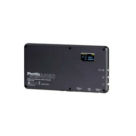 《新品アクセサリー》 Phottix (フォティックス) ポータブルLEDライト M180 ブラック【KK9N0D18P】