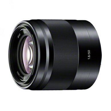 《新品》 SONY(ソニー) E 50mm F1.8 OSS SEL50F18 ブラック[ Lens | 交換レンズ ]【KK9N0D18P】