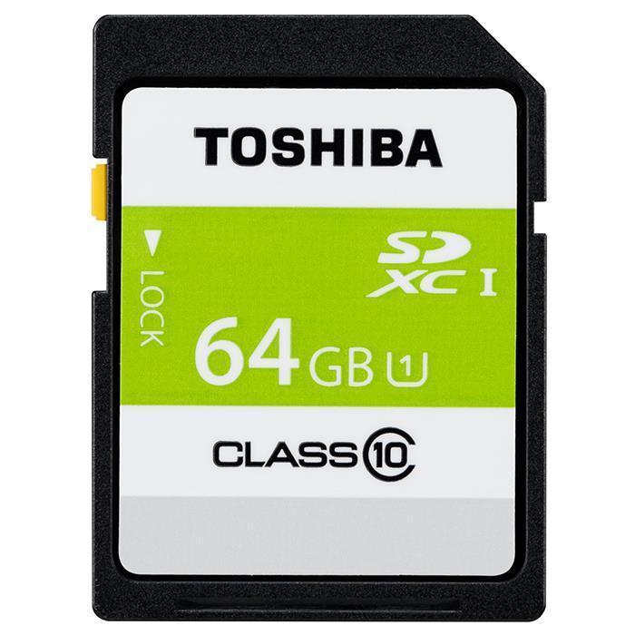 《新品アクセサリー》 TOSHIBA (トウシバ) SDXCカード UHS-1 64GB Class10 SDAR40N64G【KK9N0D18P】