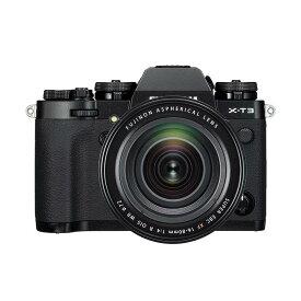 《新品》 FUJIFILM (フジフイルム) X-T3 XF16-80mm レンズキット ブラック【キャッシュバック¥30,000-対象】 [ ミラーレス一眼カメラ | デジタル一眼カメラ | デジタルカメラ ]【KK9N0D18P】
