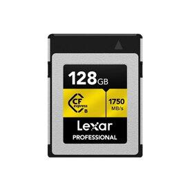 《新品アクセサリー》 LEXAR (レキサー) CFexpress TypeB メモリーカード 128GB LCFX10-128CRB【KK9N0D18P】