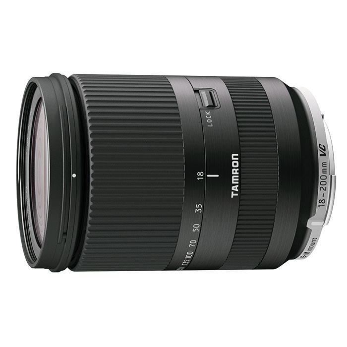 《新品》 TAMRON(タムロン) 18-200mm F3.5-6.3 Di III VC(キヤノンEF-M用) ブラック[ Lens | 交換レンズ ]【KK9N0D18P】※当店の在庫はすべてEOS M5対応となっております。