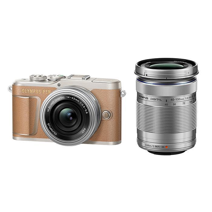 《新品》OLYMPUS (オリンパス) PEN E-PL9 EZダブルズームキット ブラウン【¥10,000-キャッシュバック】[ ミラーレス一眼カメラ | デジタル一眼カメラ | デジタルカメラ ] 【KK9N0D18P】
