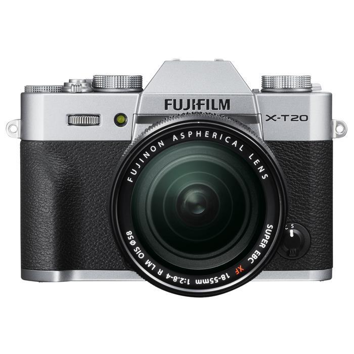 《新品》 FUJIFILM(フジフイルム) X-T20 レンズキット シルバー【対象のXFレンズと同時購入で追加¥5,000-キャッシュバック対象】[ ミラーレス一眼カメラ | デジタル一眼カメラ | デジタルカメラ ]【KK9N0D18P】