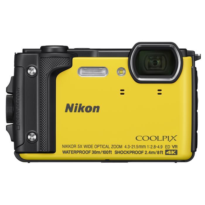 《新品》 Nikon (ニコン) COOLPIX W300 イエロー[ コンパクトデジタルカメラ ]【KK9N0D18P】※お一人様1点限り