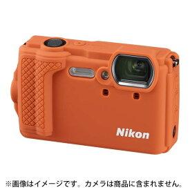 《新品アクセサリー》 Nikon (ニコン) シリコンジャケット CF-CP3 オレンジ〔対応機種: W300〕【KK9N0D18P】 [ カメラケース ]