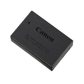 《新品アクセサリー》 Canon (キヤノン) バッテリーパック LP-E17 (対応機種:EOS 8000D、EOS Kiss X8i、EOS M5、EOS M6、EOS M3、EOS RP)【KK9N0D18P】