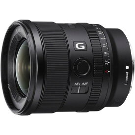《新品》 SONY (ソニー) FE 20mm F1.8 G SEL20F18G[ Lens | 交換レンズ ]【KK9N0D18P】