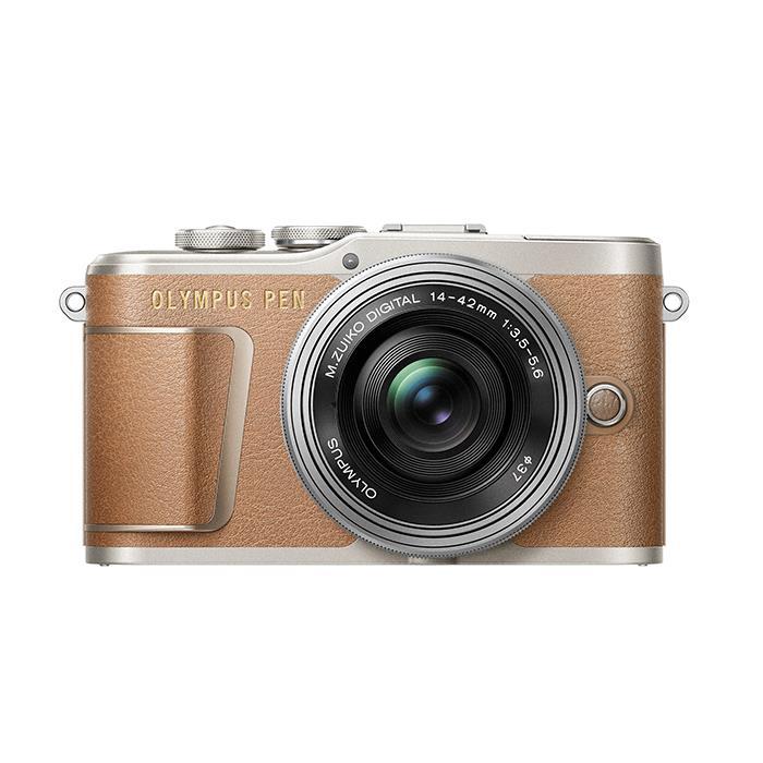 《新品》OLYMPUS (オリンパス) PEN E-PL9 14-42mm EZレンズキット ブラウン[ ミラーレス一眼カメラ | デジタル一眼カメラ | デジタルカメラ ] 【KK9N0D18P】