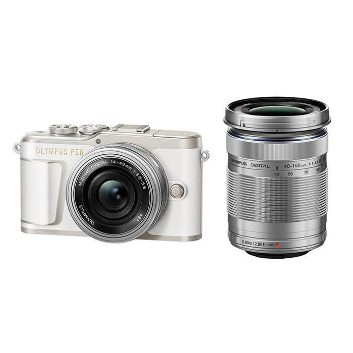 【あす楽】《新品》OLYMPUS (オリンパス) PEN E-PL9 EZダブルズームキット ホワイト[ ミラーレス一眼カメラ | デジタル一眼カメラ | デジタルカメラ ] 【KK9N0D18P】