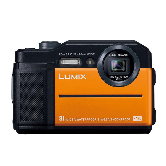 《新品》 Panasonic (パナソニック) LUMIX DC-FT7 オレンジ [ コンパクトデジタルカメラ ]【KK9N0D18P】