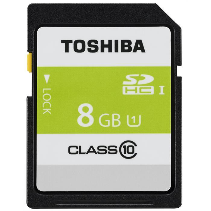 《新品アクセサリー》 TOSHIBA (トウシバ) SDHCカード UHS-1 8GB Class10 SDAR40N08G【KK9N0D18P】