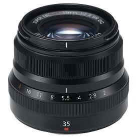 《新品》 FUJIFILM(フジフイルム) フジノン XF35mm F2 R WR ブラック【KK9N0D18P】