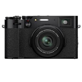 《新品》 FUJIFILM(フジフイルム) X100V ブラック[ コンパクトデジタルカメラ ]【KK9N0D18P】