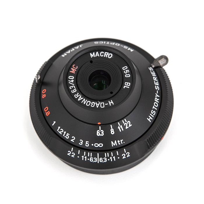《新品》 MS-Optics (エムエスオプティックス) DAGONAR M40mm F6.3 ブラック[ Lens   交換レンズ ]【KK9N0D18P】【数量限定特価】