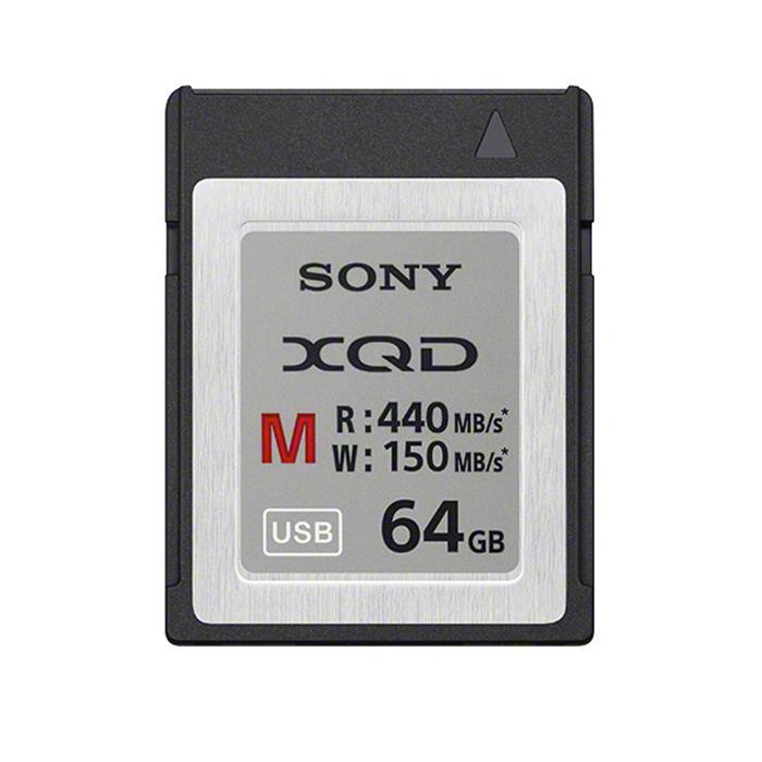 《新品アクセサリー》 SONY (ソニー) XQDメモリーカード Mシリーズ 64GB QD-M64A 〔 USBアダプター付属〕【KK9N0D18P】