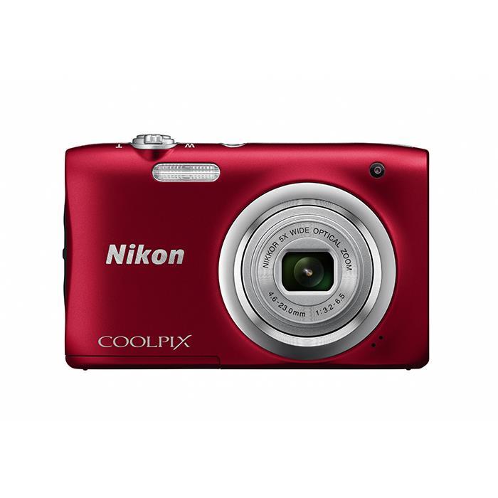《新品》 Nikon (ニコン) COOLPIX A100 レッド[ コンパクトデジタルカメラ ]【KK9N0D18P】※お一人様1点限り