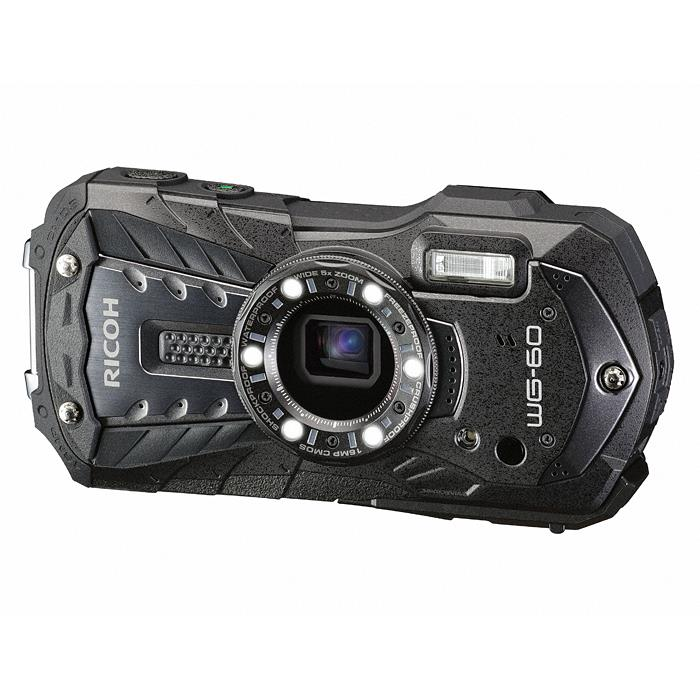 《新品》 RICOH (リコー) WG-60 ブラック[ コンパクトデジタルカメラ ]【KK9N0D18P】