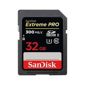 《新品アクセサリー》 SanDisk (サンディスク) ExtremePRO SDHCカード UHS-II 32GB SDSDXPK-032G-GN4IN 海外パッケージ版【KK9N0D18P】