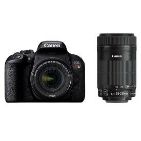 《新品》 Canon (キヤノン) EOS Kiss X9i ダブルズームキット [ デジタル一眼レフカメラ   デジタル一眼カメラ   デジタルカメラ ]【KK9N0D18P】