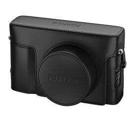 《新品アクセサリー》 FUJIFILM (フジフィルム) レザーケース LC-X100V ブラック [ カメラケース ]【KK9N0D18P】 発売予定日:2020年2月27日