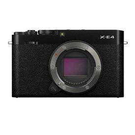 《新品》FUJIFILM (フジフイルム) X-E4 ボディ ブラック[ ミラーレス一眼カメラ | デジタル一眼カメラ | デジタルカメラ ] 【KK9N0D18P】