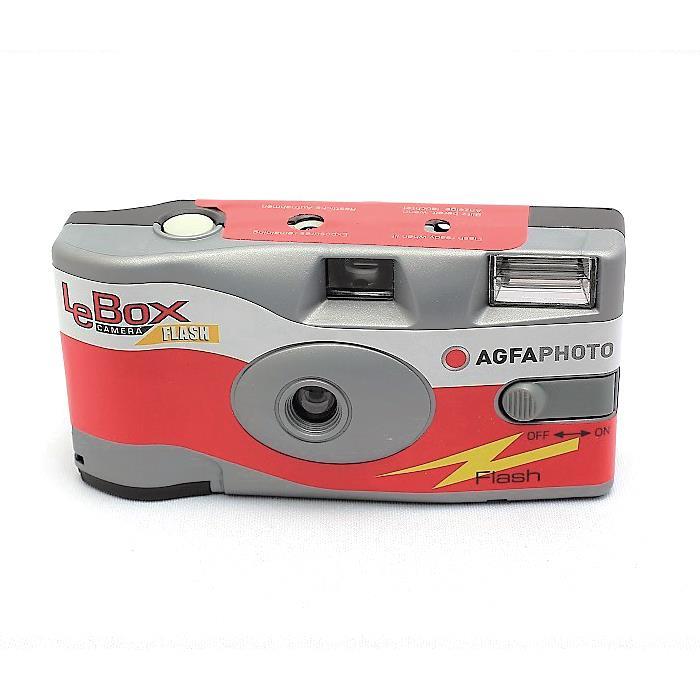 【あす楽】《新品》 AGFA (アグフア) LeBox Flash カラーネガ27枚撮り 〔35mm/カラーネガフィルム〕【特価品/数量限定】