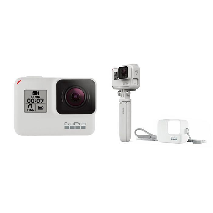 《新品》 GoPro (ゴープロ) HERO7 BLACK Limited Edition Box CHDHX-702-FWB ホワイト[ ウェアラブルカメラ ] 【KK9N0D18P】