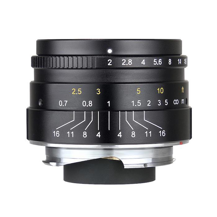 《新品》 七工匠 (しちこうしょう) 7Artisans 35mm F2 ブラック(ライカM用)[ Lens   交換レンズ ]【KK9N0D18P】