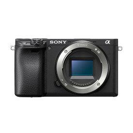 《新品》 SONY (ソニー) α6400 ボディ ILCE-6400 ブラック [ ミラーレス一眼カメラ | デジタル一眼カメラ | デジタルカメラ ]【KK9N0D18P】