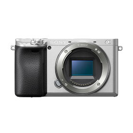 《新品》 SONY (ソニー) α6400 ボディ ILCE-6400 シルバー【¥10,000-キャッシュバック対象】[ ミラーレス一眼カメラ | デジタル一眼カメラ | デジタルカメラ ]【KK9N0D18P】