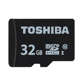 《新品アクセサリー》 TOSHIBA (トウシバ) micro SDHCカード UHS-1 32GB Class10 MSDAR40N32G(変換アダプタ付属)