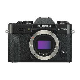 《新品》 FUJIFILM (フジフイルム) X-T30 ボディ ブラック【KK9N0D18P】